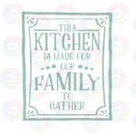 This Kitchen is Made for Our Family