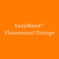 "12"" x 15"" Sheet Siser EasyWeed HTV - Fluorescent Orange"