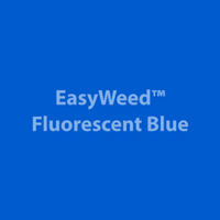 "12"" x 24"" Sheet SiserEasyWeed HTV - Fluorescent Blue"