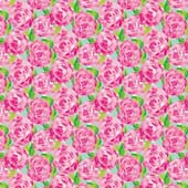 """Printed HTV Lilly Inspired Roses Print 12"""" x 15"""" Sheet"""