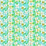 """Printed Pattern Vinyl - White Lily 12"""" x 12"""" Sheet"""