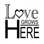Free Download - Love Grows Here