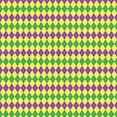 """Printed HTV Mardi Gras Argyle 12"""" x 15"""" Sheet"""