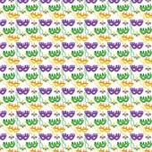"Printed HTV Mardi Gras Mask 12"" x 15"" Sheet"