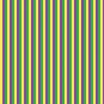 "Printed Pattern Vinyl - Mardi Gras Stripes 12"" x 24"" Sheet"