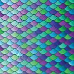 """Siser EasyPatterns PSV - Mermaid Scales - 12"""" x 12"""" sheets"""