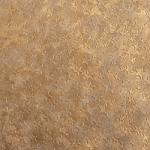 Faux Leather - 12 x 12 Sheet Metallic Gold Star