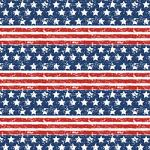 "Printed Pattern Vinyl - Old Glory Distressed Flag 12"" x 24"" Sheet"
