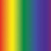 """Printed HTV Ombré Rainbow 12"""" x 15"""" Sheet"""