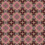 "Printed Pattern Vinyl - Small Ornate Paisley 12"" x 12"" Sheet"