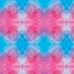 "Printed Pattern Vinyl - Pink and Blue Watercolor 12"" x 24"" Sheet"