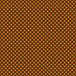 "Printed Pattern Vinyl - Brown and Orange Polka Dots 12"" x 24"" Sheet"