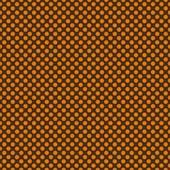 """Printed HTV Brown and Orange Polka Dots Print 12"""" x 15"""" Sheet"""