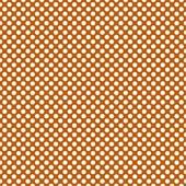"Printed HTV Burnt Orange and White Polka Dots Print 12"" x 15"" Sheet"