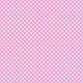 "Printed HTV Light Pink and White Polka Dots Print 12"" x 15"" Sheet"
