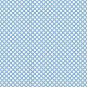 "Printed HTV Light Blue and White Polka Dots Print 12"" x 15"" Sheet"