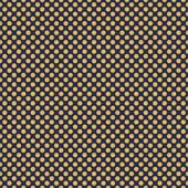 """Printed HTV Navy and Old Gold Polka Dots Print 12"""" x 15"""" Sheet"""