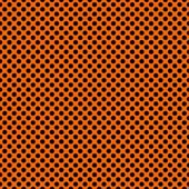 "Printed HTV Orange and Black Polka Dots Print 12"" x 15"" Sheet"