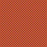 "Printed Pattern Vinyl - Orange and Purple Polka Dots 12"" x 24"" Sheet"
