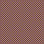 "Printed Pattern Vinyl - Purple and Yellow Polka Dots 12"" x 24"" Sheet"