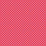 "Printed Pattern Vinyl - Red with Pink Polka Dots 12"" x 24"" Sheet"