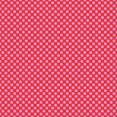 "Printed HTV Red with Pink Polka Dots Print 12"" x 15"" Sheet"