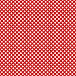 "Printed Pattern Vinyl - Red and White Polka Dots 12"" x 24"" Sheet"