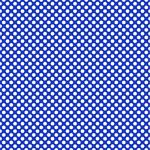 "Printed Pattern Vinyl - Blue and White Polka Dots 12"" x 24"" Sheet"