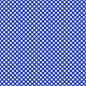 "Printed HTV Blue and White Polka Dots Print 12"" x 15"" Sheet"