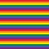 "Printed HTV Rainbow / Gay Pride Stripe Print 12"" x 15"" Sheet"
