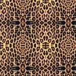 "Printed Pattern Vinyl - Real Leopard 12"" x 24"" Sheet"