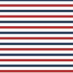 "Printed Pattern Vinyl - Red White and Blue 12"" x 24"" Sheet"