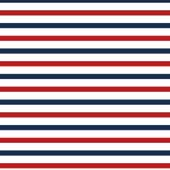 """Printed HTV Red White and Blue Stripes Print 12"""" x 15"""" Sheet"""
