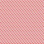 """Printed Pattern Vinyl - Red and Pink Hearts 12"""" x 12"""" Sheet"""