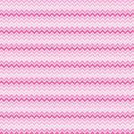 "Printed Pattern Vinyl - Shades of Pink Chevron 12"" x 12"" Sheet"