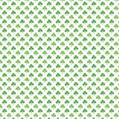 "Printed HTV White with Green Shamrocks 12"" x 15"" Sheet"