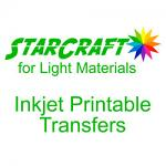 """StarCraft Transfers for Light Materials 10-pack 8.5"""" x 11"""" Sheets (Ships Separately)"""