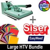 StarCraft Mint Press + Siser EasyWeed All Color Pack (large bundle)