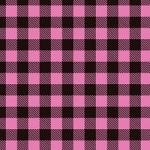 "Printed Pattern Vinyl - Pink Buffalo Plaid 12"" x 24"" Sheet"