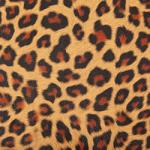 Faux Leather - 12 x 12 Sheet Tan Leopard
