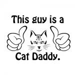 Free Download - This Guy is a Cat Daddy