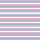 "Printed HTV Transgender / Cotton Candy Stripe Print 12"" x 15"" Sheet"