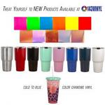 143Vinyl Adds Stainless Steel Tumblers and NEW StyleTech products to product line
