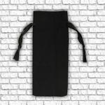 Wine Bottle Gift Bag - Black