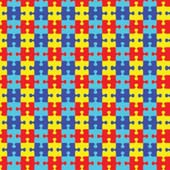 "Printed HTV Autism Puzzle Print 12"" x 15"" Sheet"