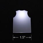 Acrylic Blank - Badge Reel - Basketball Jersey