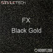 "StyleTech FX - Black Gold - 12"" x 12"""