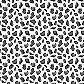 """Printed HTV - Black and Grey Leopard  - 12"""" x 15"""""""
