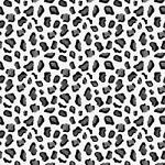 "Printed Pattern Vinyl - Black and Grey Leopard - 12"" x 24"""
