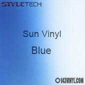 """StyleTech Sun Vinyl - Blue - 12"""" x 12"""" Sheet"""